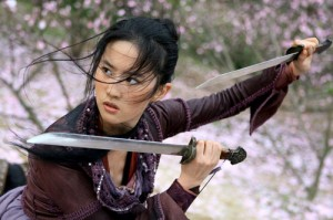[The Forbidden Kingdom] starring Liu Yifei as The Golden Sparrow