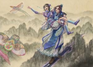 Chinese Paladin fan artists on DeviantART